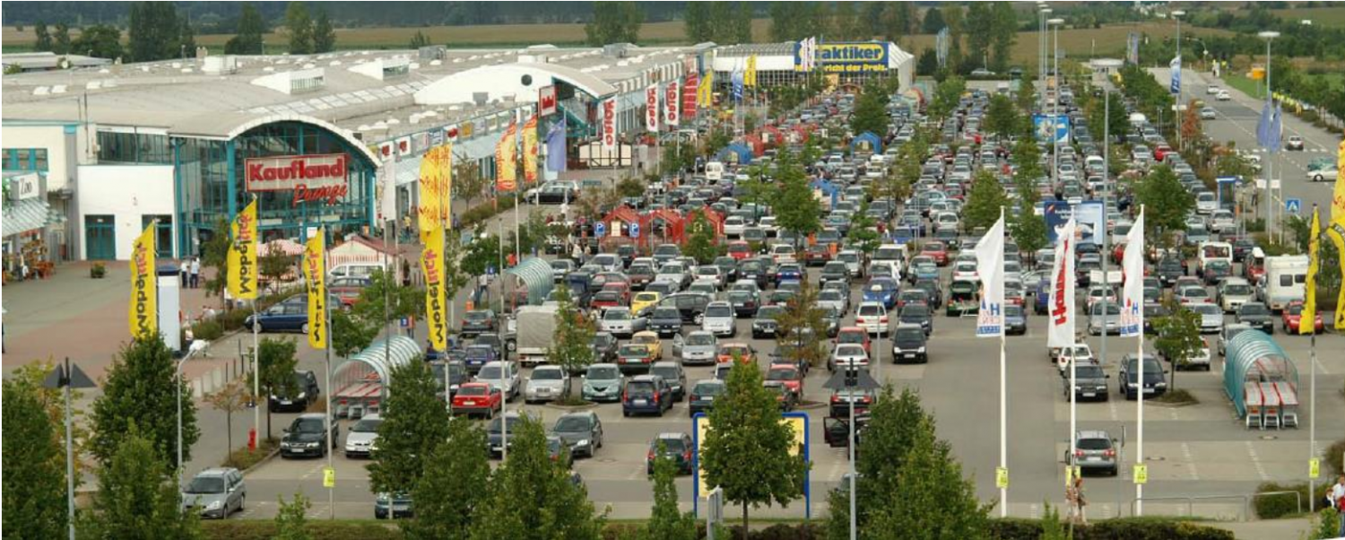 Hanse center-3rd place of the best 400 retail center in Germany